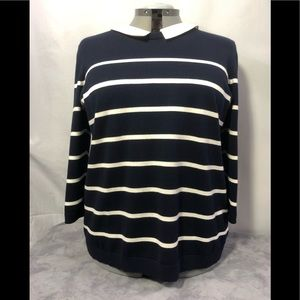 Talbots Woman 3/4 sleeve sweater bust 48""